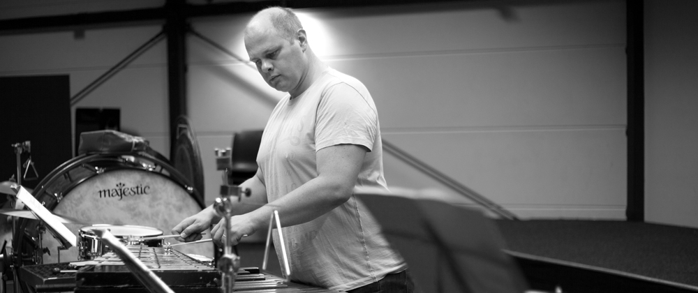Thorwald Jorgensen, <span>percussion</span>